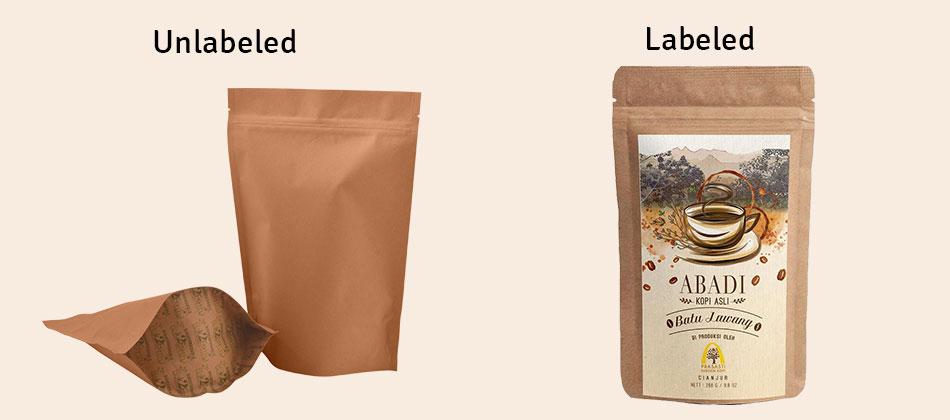 ENVIRONMENTAL FRIENDLY COFFEE PACKAGING BAGS