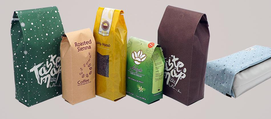 Custom Side gusset bags